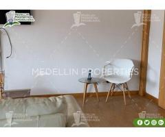 ARRIENDO APARTAMENTOS AMOBLADOS MEDELLIN POR MESES Cod: 5144