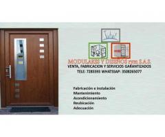 Instalación y mantenimiento en puertas electromagnéticas