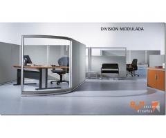 Montaje de divisiones para oficinas y mas espacios