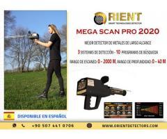 Detector de metales Mega Scan Pro