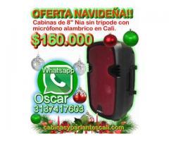 "Oferta navideña! parlantes bluetooth de 8"" Nia a $160.000 en Cali"