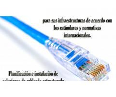 Monitoreo y seguridad de áreas Cableado estructurado canaletas y red