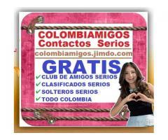⭐ GRATIS, ColombiAmigos, Agencia Matrimonial, Club De Amigos Serios, Solteros, Solitarios, Decentes,