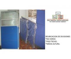 Mano de obra y materiales en drywall