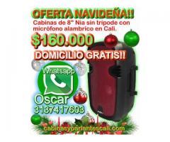 """Oferta navideña! parlantes bluetooth de 8"""" Nia $160.000 domicilio gratis en Cali"""