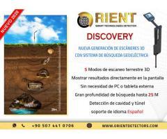 Escáner de tierra Discovery SMR: hasta 25 de profundidad