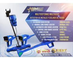 Gold Star 3D Scanner Juego completo de herramientas de detección de metales / Nuevo 2021