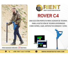 ROVER C4 Mejor escáner de tierra 3D para buscadores de tesoros