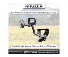 Detector de metales Kruzer para disparar monedas y buscar oro