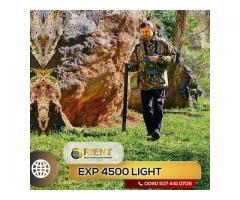 EXP 4500 Light - Potente detector de tesoros