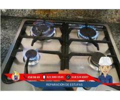 Mantenimiento y Reparacion de estufas Chimasu