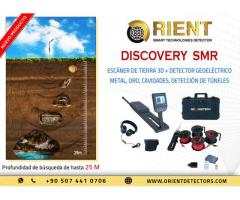 Escáner de tierra profunda Discovery SMR