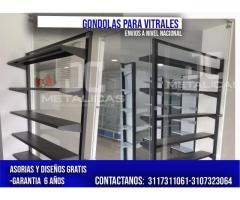 GONDOLAS PARA VITRIALES