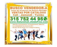 ⭐ Busco Vendedor, Vendedora, Para Venta De Productos De Belleza Natura, Ventas Por Catalogo De Natur