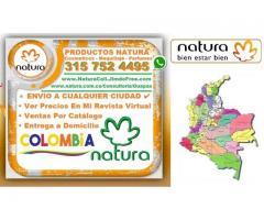 ⭐ NATURA CUERPO Y BAÑO, Jabon En Barra, Jabon Líquidos, Desodorante En Spray y Roll On, Desodorante