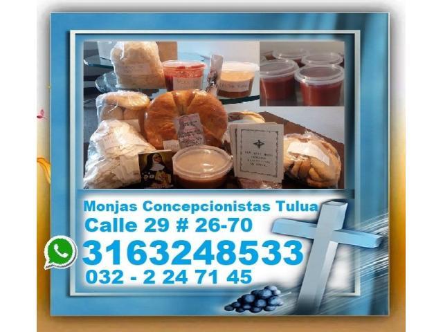 ⭐ Manjar Blanco, Jalea De Guayaba, Mermelada, Fruta Deshidratada, Hostias, Recorte Hostias, Panes, E - 2/5