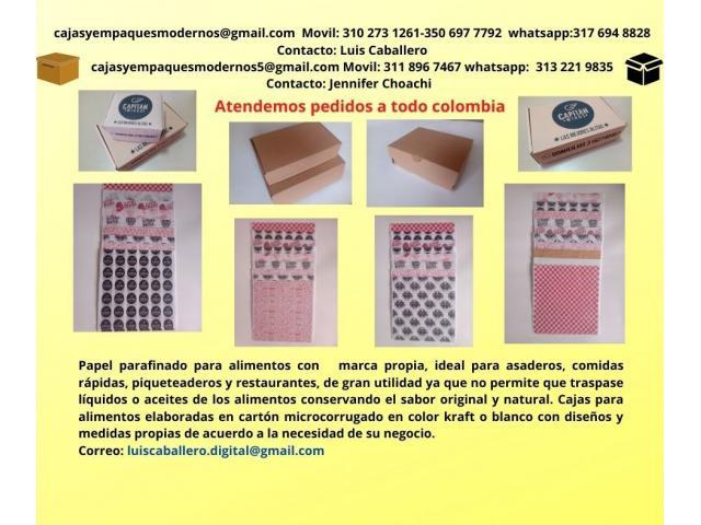 CAJAS PARA ALIMENTOS EN CARTULINAS Y CARTÓN MICROCORRUGADO - 2/6