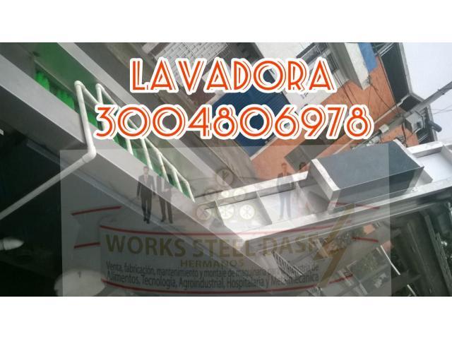 LAVADORA DE FRUTAS - 1/1