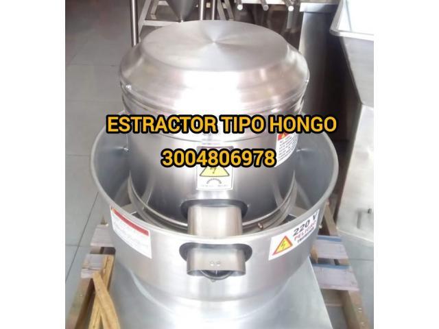 extractor tipo hongo - 1/1