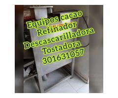 DESCASCASCARADOR PARA CACAO (DESCASCARILLADORA DE CACAO)