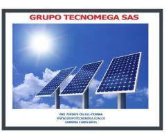 Venta Instalacion y Mantenimiento de sistemas de energia solar BOGOTÁ.