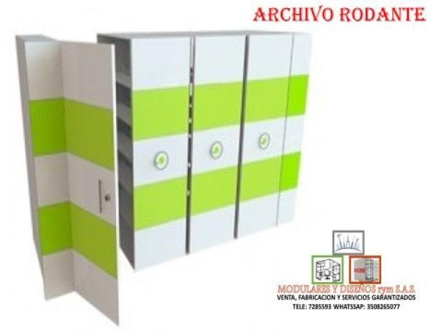 FABRICACIÓN DE ARCHIVOS RODANTES - 1/1