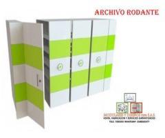 FABRICACIÓN DE ARCHIVOS RODANTES