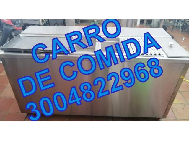 FREIDOR INDUSTRIAL-CARROS PARA COMIDAS RAPIDAS - 1/1