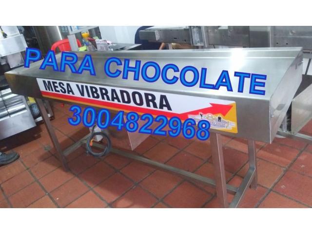 MESA VIBRADORA PARA CHOCOLATE - 1/1