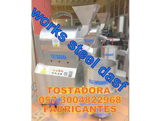 TOSTADORA DE CACAO INDUSTRIAL - 1/2