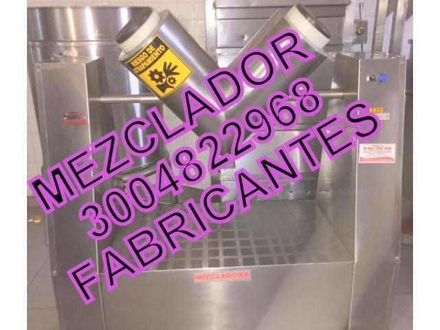 MEZCLADOR EN PARA POLVOS Y GRANULADOS - 1/1