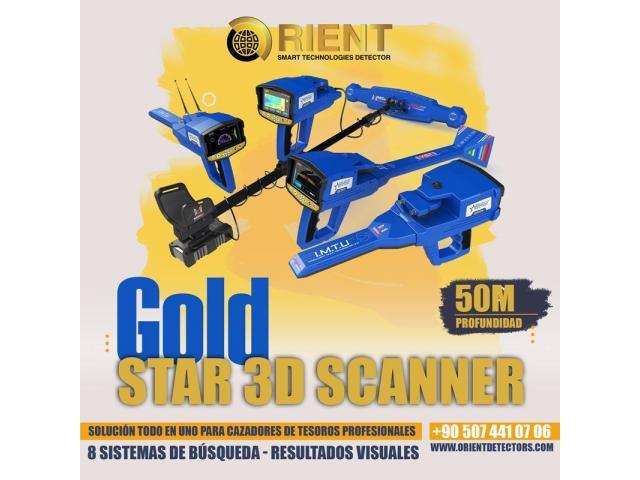 Detector de metales todo en uno Gold Star 3D Scanner - 1/3