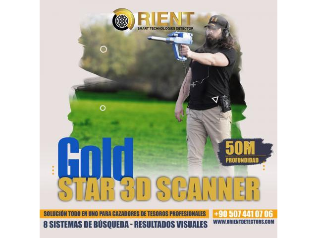 Detector de metales todo en uno Gold Star 3D Scanner - 2/3