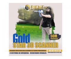 Detector de metales todo en uno Gold Star 3D Scanner