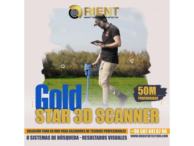 Detector de metales todo en uno Gold Star 3D Scanner - 3/3