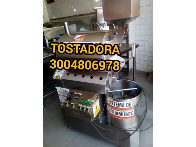 TOSTADORA CACAO EN ACERO - 1/3