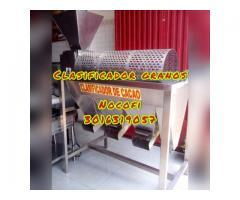 CLASIFICADORA CON ZARANDAS SELECCIONADORAS DE CACAO