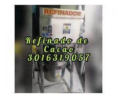 REFINADOR INDUSTRIAL DE CHOCOLTES PARA 5 KILOS POR BACHE