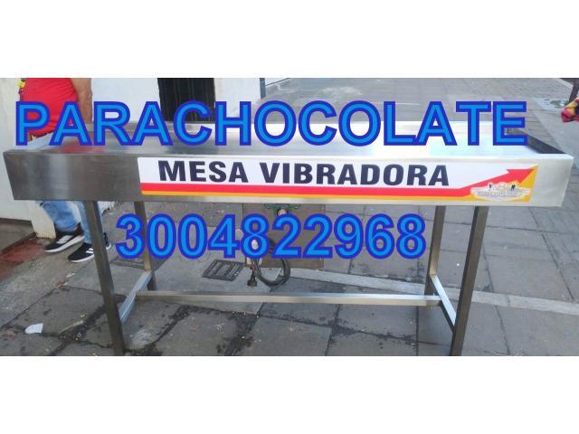 MESA VIBRADORA CHOCOLATE NUEVA - 1/1
