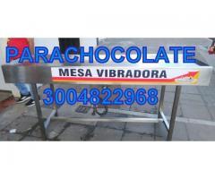 MESA VIBRADORA CHOCOLATE NUEVA