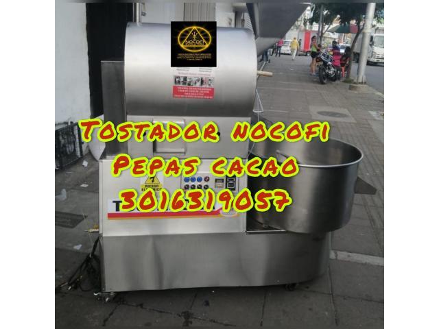 MAQUINA TOSTADORA UNFORME PARA CACAO - 1/1
