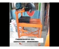 cortadora de ladrillos y de pavimento con o sin disco