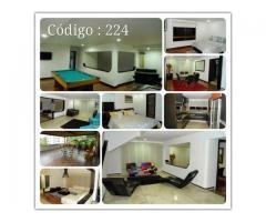 Apartamento Amoblado cod  224