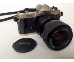Cámara Fotográfica Análoga Nikon Fm10