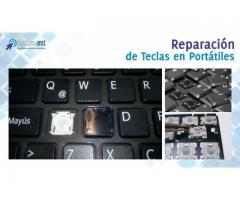 Reparación de Teclas en Portatiles