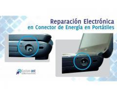 Reparación de Conectores de Energía en Portatiles