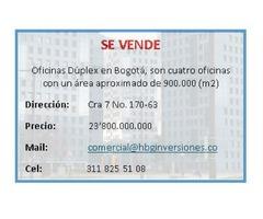OFICINA DUPLEX EN BOGOTA