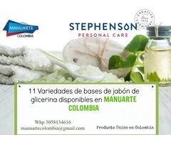 BASES DE GLICERINA CON ADITIVOS-11 variedades de base de jabón de Glicerina