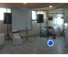 alquiler de video beam y sonido profesional