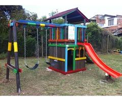 Parques plásticos infantiles